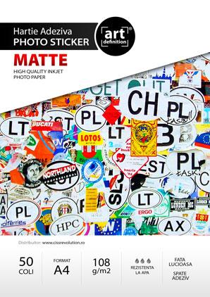 Hartie foto ArtDefinition sticker A4 mat 128/mp 0