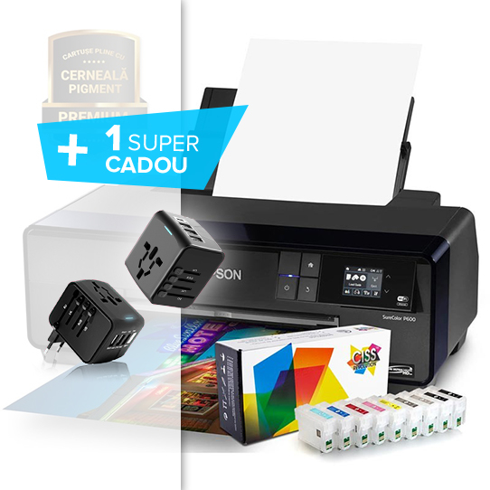 Imprimanta foto Epson SureColor SC P600 1