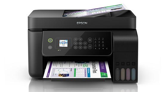 Imprimanta multifunctionala A4 inkjet Epson EcoTank ITS L5190 (cartuse de mare capacitate - CISS din fabrica) [1]