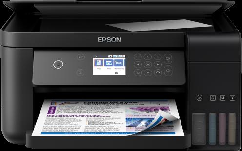Imprimanta multifunctionala A4 inkjet Epson EcoTank ITS L6160 (cartuse de mare capacitate - CISS din fabrica) 0