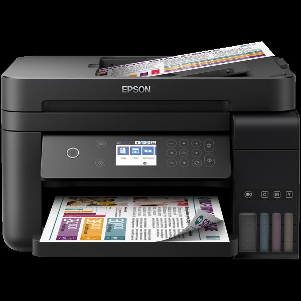 Imprimanta multifunctionala A4 inkjet Epson EcoTank ITS L6170 (cartuse de mare capacitate - CISS din fabrica) 0