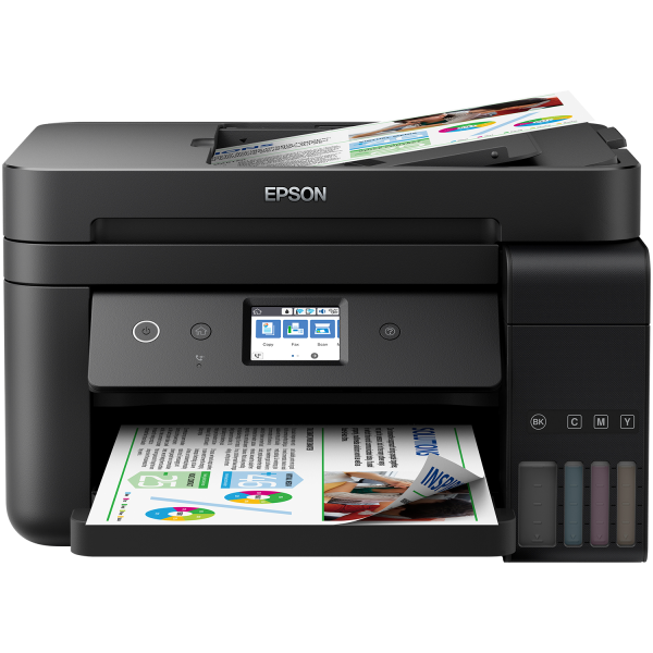 Imprimanta multifunctionala A4 inkjet Epson EcoTank ITS L6190 (cartuse de mare capacitate - CISS din fabrica) 0