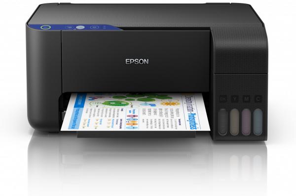 Imprimanta multifunctionala A4 inkjet Epson L3110 (cartuse de mare capacitate - CISS din fabrica) 0