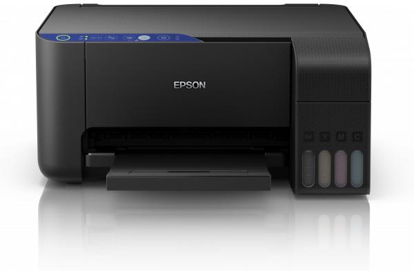 Imprimanta multifunctionala A4 inkjet Epson L3151 (cartuse de mare capacitate - CISS din fabrica) 0