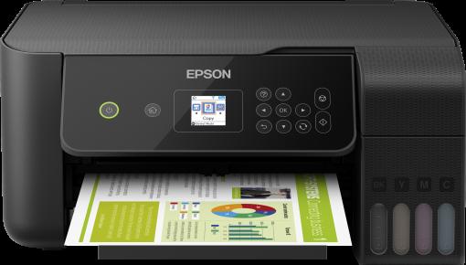Imprimanta multifunctionala A4 inkjet Epson L3160 (cartuse de mare capacitate - CISS din fabrica) 1
