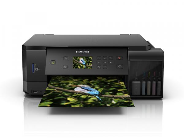 Imprimanta multifunctionala A4 inkjet Epson L7160 (cartuse de mare capacitate - CISS din fabrica) 0