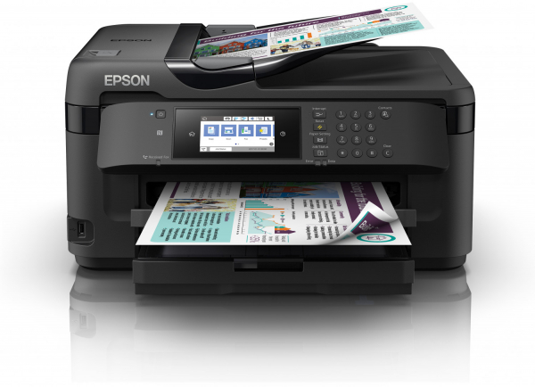 Imprimanta multifunctionala EPSON WORKFORCE WF 7710 DWF, A3 0