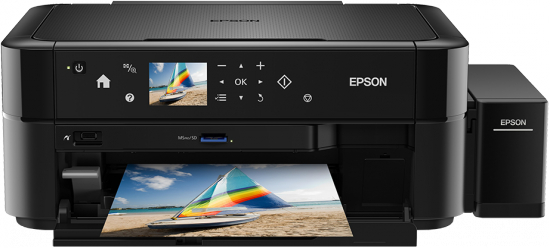 Imprimanta multifunctionala foto Epson L850 (cartuse de mare capacitate - CISS din fabrica) 0