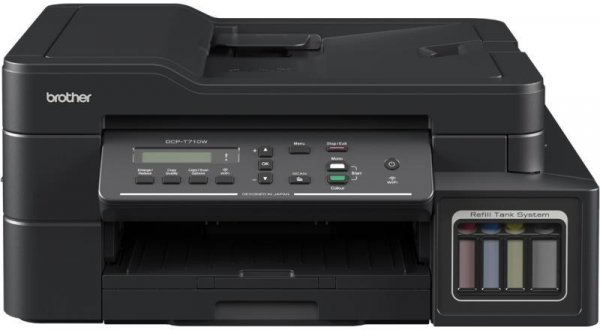 Imprimanta multifunctionala inkjet Brother DCP-T710W InkBenefit Plus 3-în-1 0
