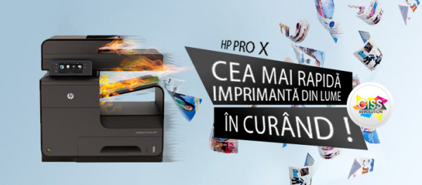 Imprimanta multifunctionala inkjet HP Officejet Pro X476 DW + cartuse refill 1