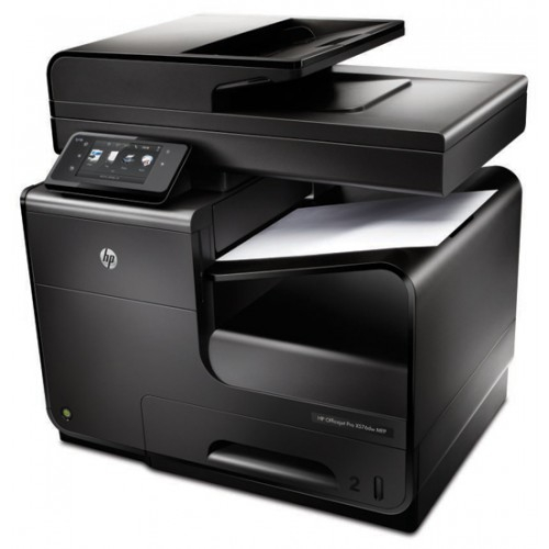Imprimanta multifunctionala inkjet HP Officejet Pro X476 DW + cartuse refill 3