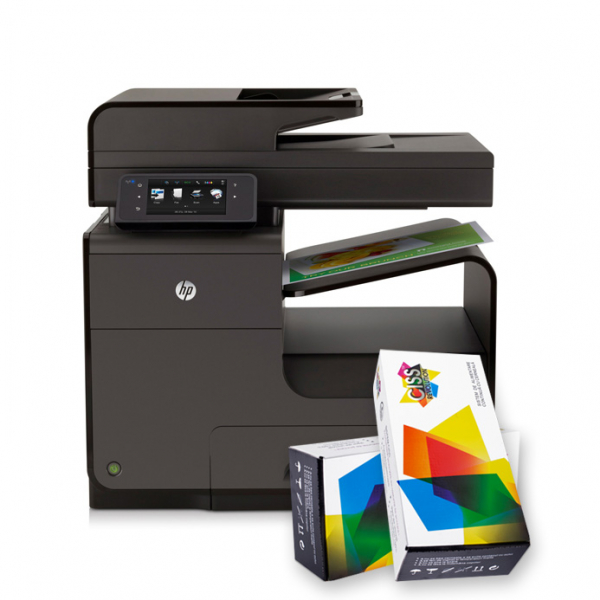 Imprimanta multifunctionala inkjet HP Officejet Pro X476 DW + cartuse refill 0