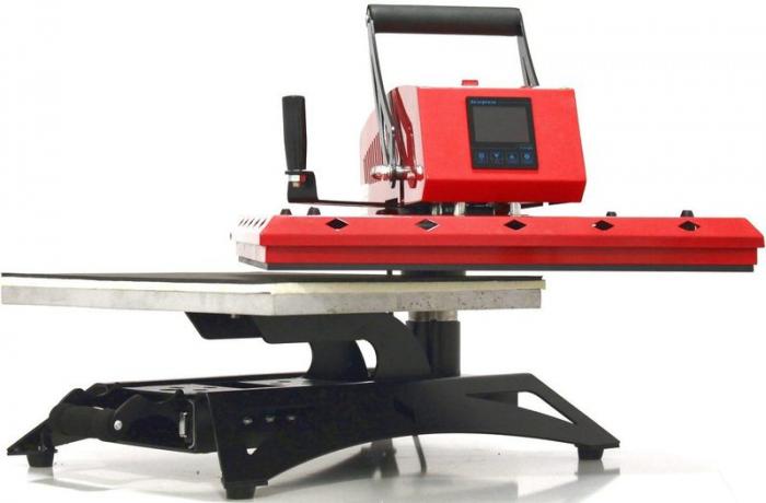 Presa termica SpotLine platan mobil 40 x 50 cm [1]