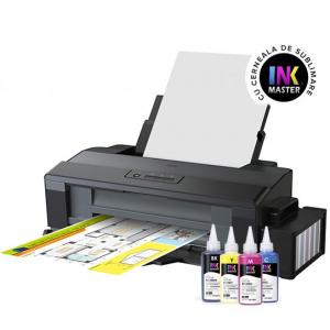 Imprimanta A3+ Epson L1300 CISS din fabrica si cerneala sublimare0