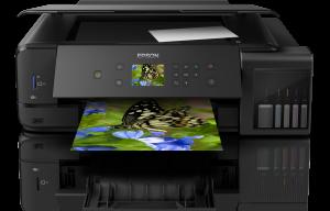 Imprimanta multifunctionala A3 inkjet Epson L7180 (cartuse de mare capacitate - CISS din fabrica)1