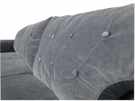 Canapea extensibila Mira,240x92x90cm,gri [5]