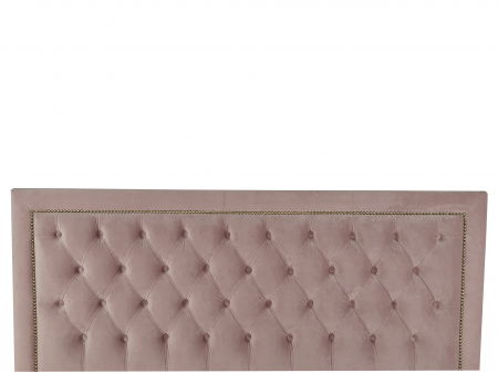 Pat tapitat Classmob Roma, 180x200cm,somiera metalica rabatabila,lada depozitare,roz [3]