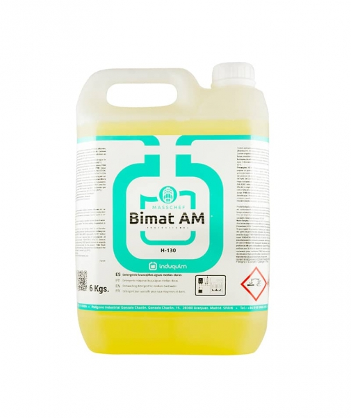 Detergent vase automat apa cu duritate medie, Bimat AM, 6 Kg 0