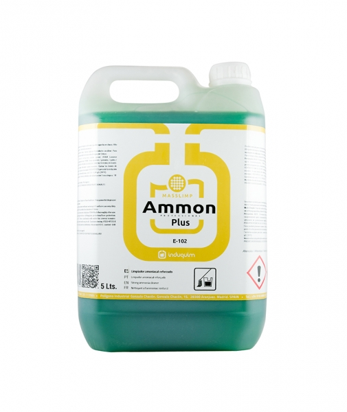 Detergent superconcentrat, igienizant, cu amoniac Ammon Plus, 5L 0