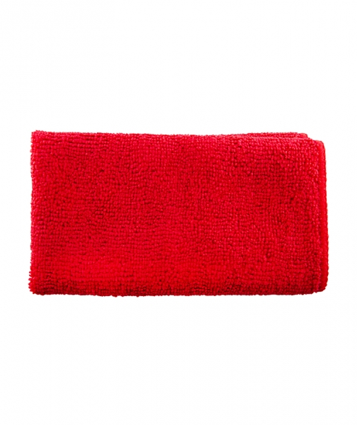 Laveta universala 100% microfibra, rosie, 40 x 40 cm