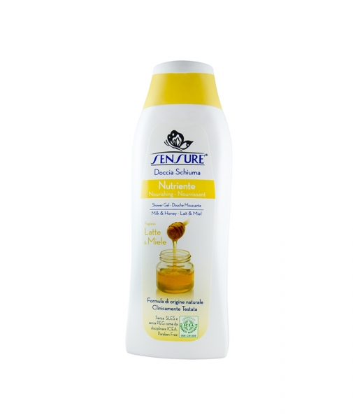 Gel de dus BIO Sensure Lapte&Miere, 300 ml 0