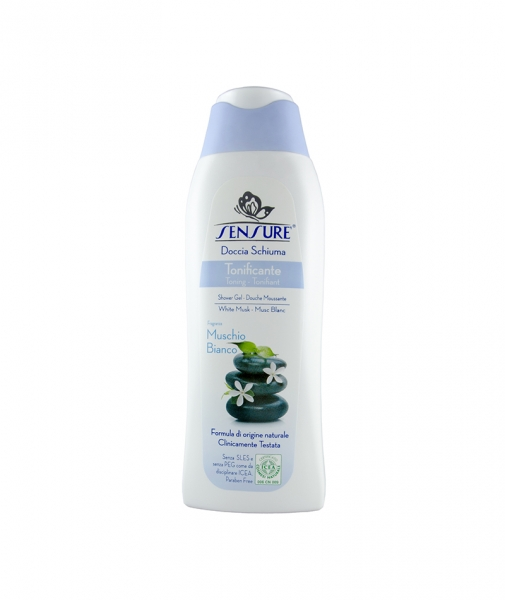 Gel de dus BIO Sensure Mosc Alb, 300 ml 0