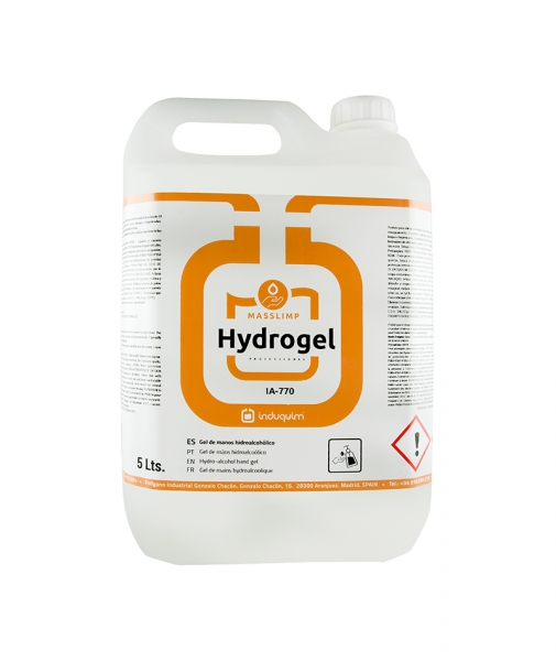 Gel hidroalcoolic pentru igienizarea mainilor, Hydrogel,5L 0