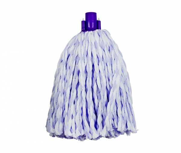 Mop microfibra bicolor (alb violet) fir gros 0