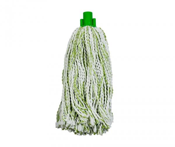 Mop microfibra si bumbac, verde,225 g 0