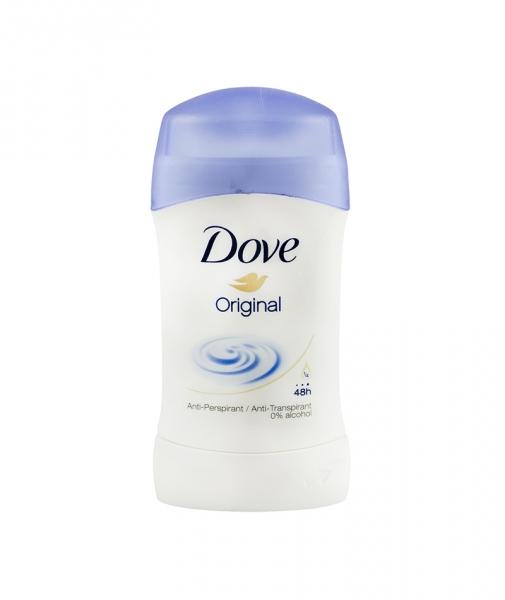 Deodorant antiperspirant Dove Original pentru femei, stick, 40 ml 0