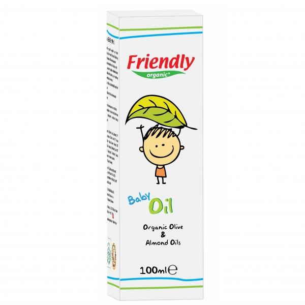 Ulei Bebe Friendly Organic, 100 ml 0