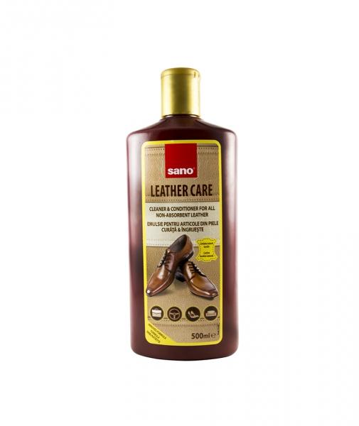 Solutie curatat articole piele - Sano Leather Care, 500 ml [0]