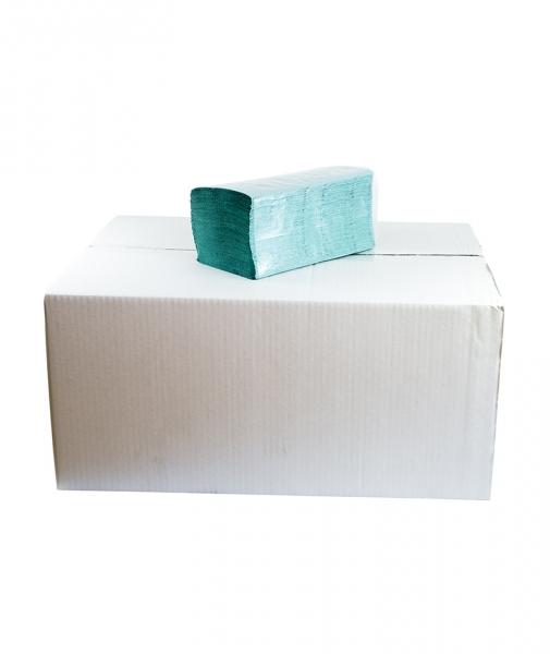 Prosoape pliate V verzi, 200 buc/pach, 20 pach/bax [0]