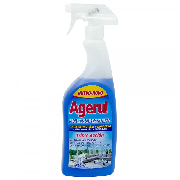 Detergent multisuprafete Triple Acction, Agerul, 750 ml 0