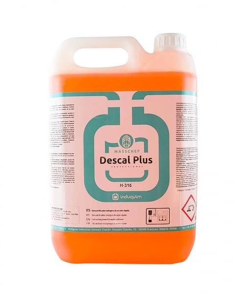 Solutie anticalcar forte Descal Plus, 5L 0