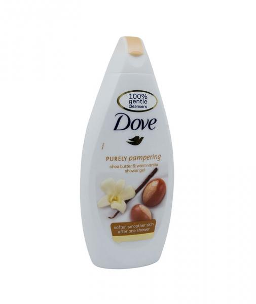 Dove - Gel de dus unt de shea si vanilie, 500 ml 0