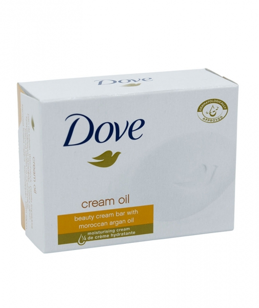 Sapun toaleta Dove Cream Oil, 100 g