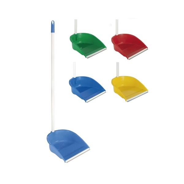 Faras cu lamela de cauciuc si maner inalt, verde 1