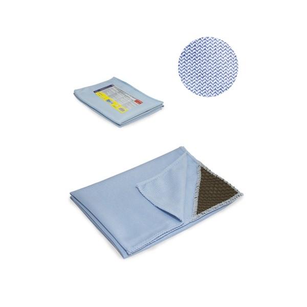 Laveta geam microfibra   colturi abrazive