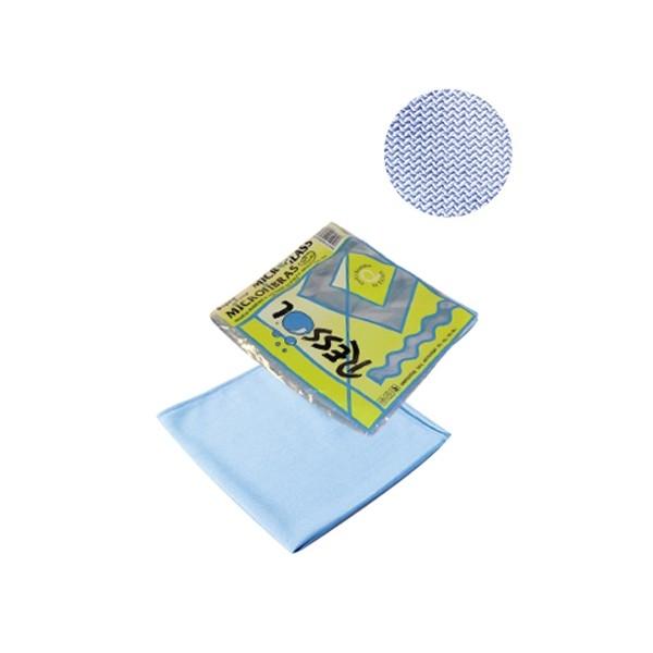 Laveta geam microfibra, albastra 0