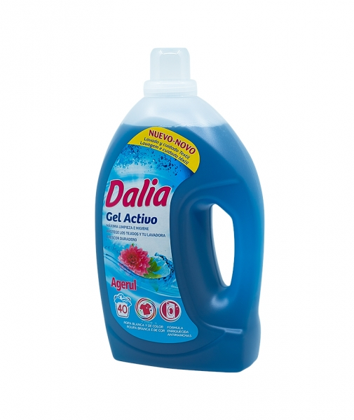 Detergent gel activ rufe albe si colorate, Dalia, 3 L [0]