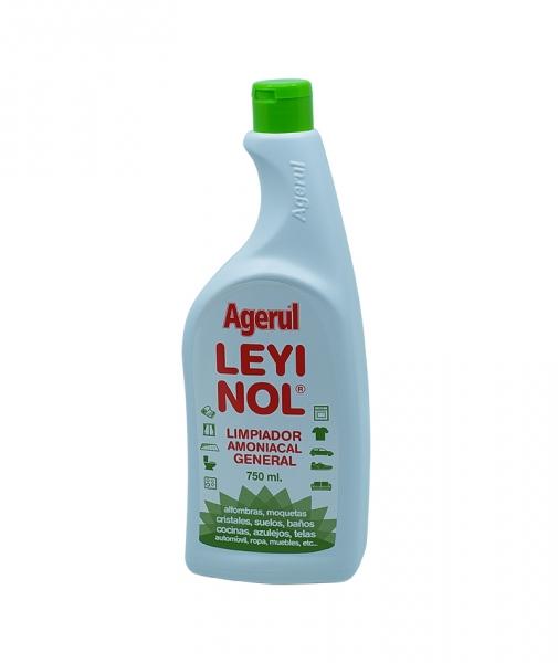 Amoniac solutie igienizanta pentru suprafete universale, Leyinol, 750ml 0