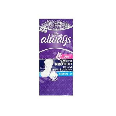 Absorbante zilnice Always Platinum Soft&Protect, Normal, 20 buc 0