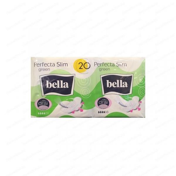 Absorbante Perfecta Slim Green, Bella, 20 buc 0