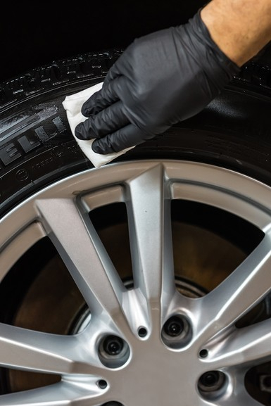 Gel curatarea si intretinerea anvelope, Tyre Gel, Autoland, 150 ml [3]