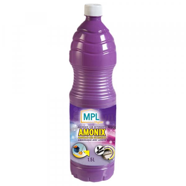 Amoniac cu detergent, solutie igienizanta, 1.5 L 1