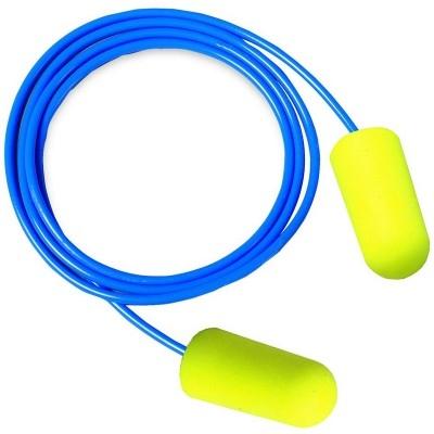 Antifoane interne din burete poliuretanic Ear Soft, conice, legate 0