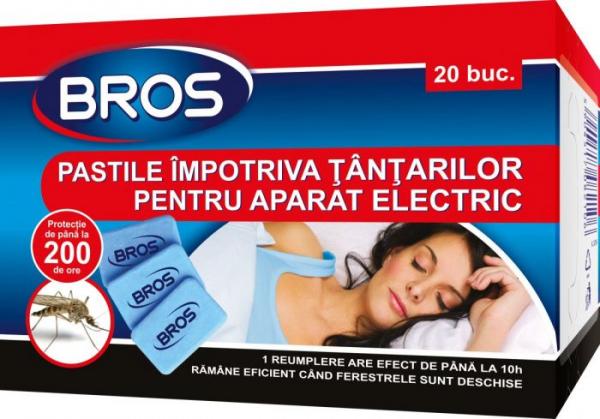 Pastile impotriva tantarilor pentru aparat electric, Bros, 20 buc 0