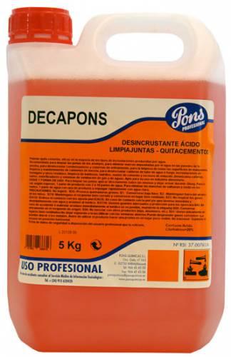 Solutie dezincrustanta Asevi Decapons, 5 L [0]