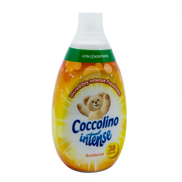 Balsam rufe Coccolino Intense Sunburst, 570 ml